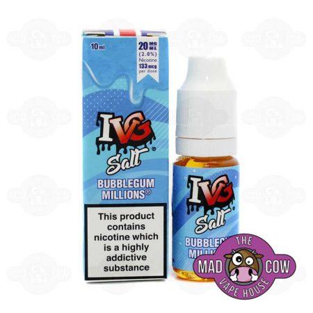 Bubblegum Millions IVG Salts
